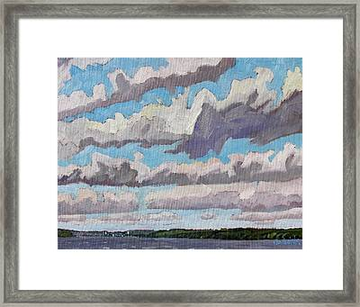 Little Rideau Virga Framed Print by Phil Chadwick