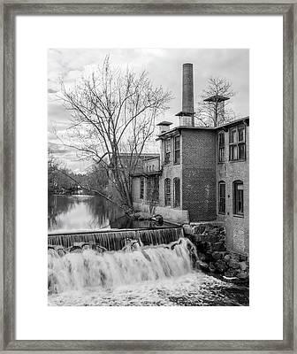 Little River Dam Framed Print