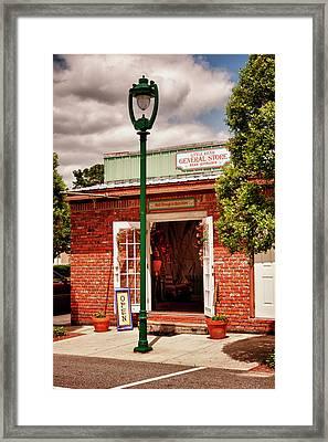 Little River General Store Framed Print