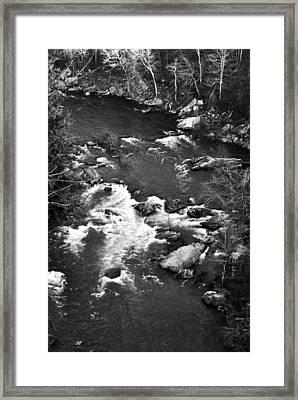 Little River Rapids Framed Print