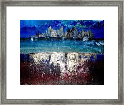 Little Rock Arkansas Framed Print by Kelly Turner