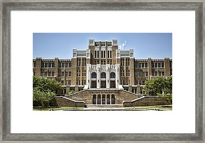 Little Rock Central High Framed Print by Stephen Stookey