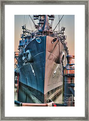 Little Rock Framed Print by Chuck Alaimo