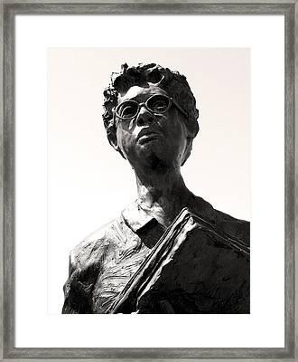 Little Rock Nine Framed Print by Brian M Lumley