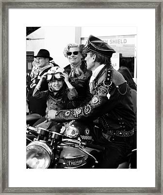 Little Rocker Framed Print