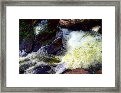 Little Rocky Glen Framed Print by Billie Steer