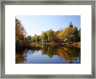 Little Shawme Pond In Sandwich Massachusetts Framed Print