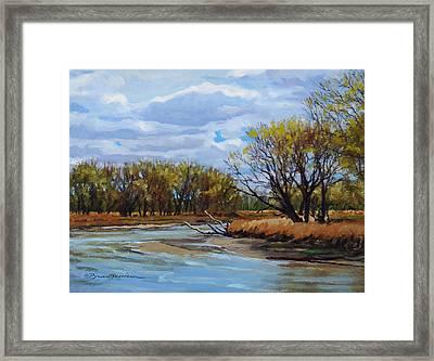 Little Sioux April Framed Print