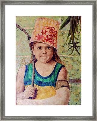 Little Soldier Framed Print by Jerry Bridges