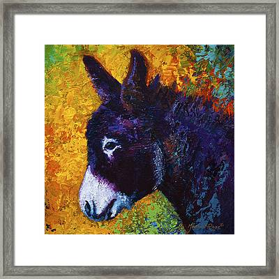 Little Sparky Framed Print by Marion Rose