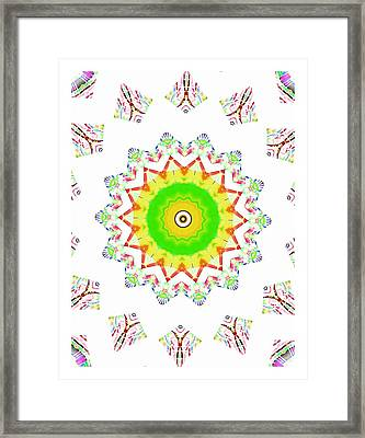 Little Star Of Hope Framed Print by Ritchard Mifsud