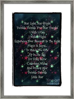 Little Star  Framed Print