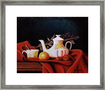 Little Tea Pot Framed Print