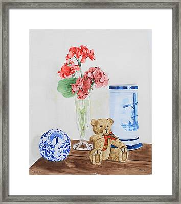Little Ted Framed Print