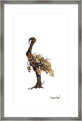 Little Tree 68 Framed Print by Sean Seal