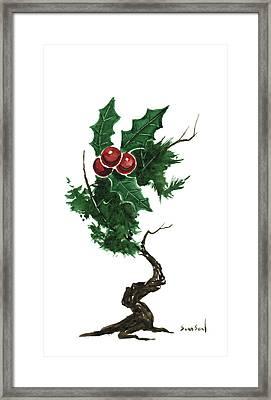 Little Tree 96 Framed Print by Sean Seal