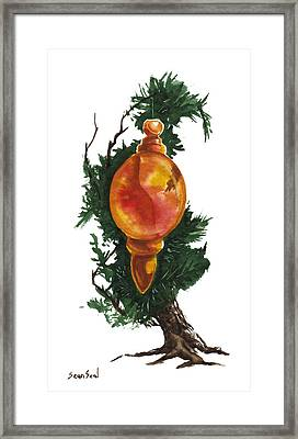 Little Tree 99 Framed Print by Sean Seal