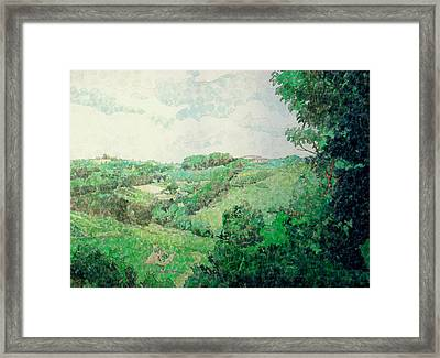 Little Tuscan Valley Framed Print by Jason Charles Allen
