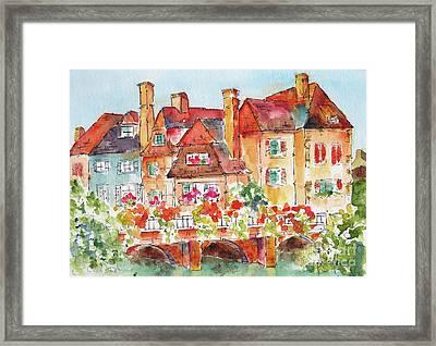 Little Venice Colmar France Framed Print
