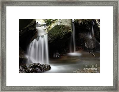 Little Waterfall Framed Print