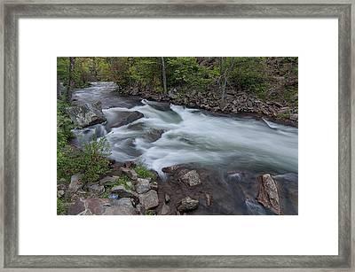 Little Wesser Falls Framed Print