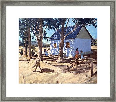 Little White House Karoo South Africa Framed Print by Andrew Macara