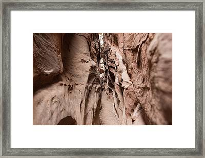 Little Wild Horse Canyon Narrows Framed Print
