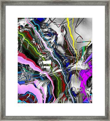 Little Wire Framed Print by Dave Kwinter