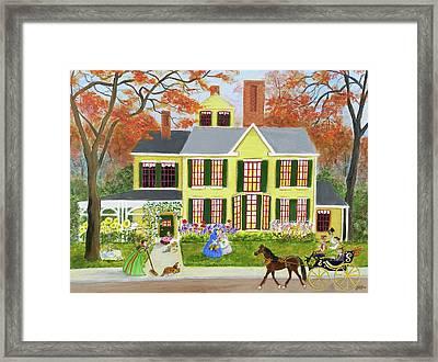 Little Women Framed Print by Joyce Pyka