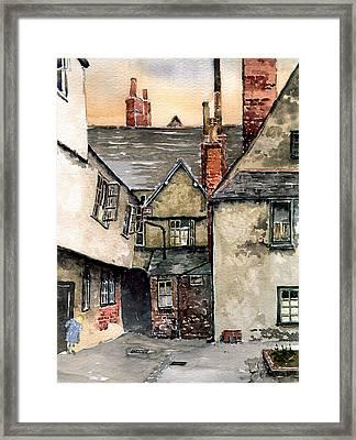 Littlemore Court. Oxford. Framed Print by Mike Lester