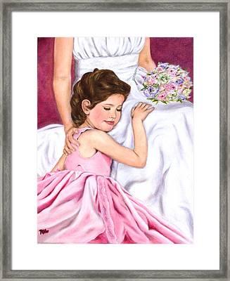 Littlest Wedding Belle Framed Print