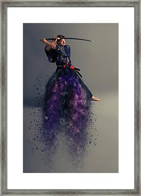 Live By The Sword Framed Print