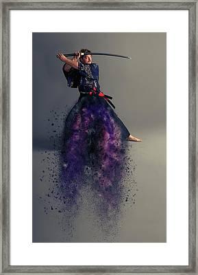 Live By The Sword Framed Print by Nichola Denny