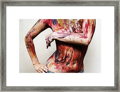 Live In Color Series One Framed Print by Christina Durity