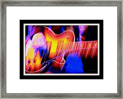 Live Music Framed Print by Chris Berry