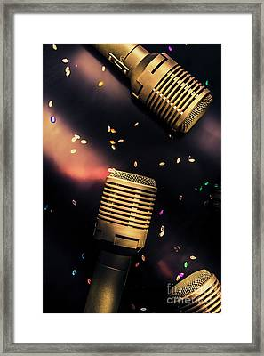 Live Musical Framed Print by Jorgo Photography - Wall Art Gallery