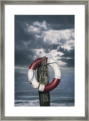 Live-saver Framed Print