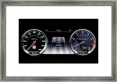 Live To Drive Framed Print