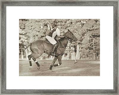 Live To Ride Framed Print by JAMART Photography