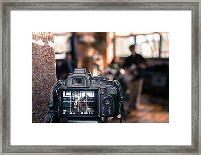 Live View Framed Print
