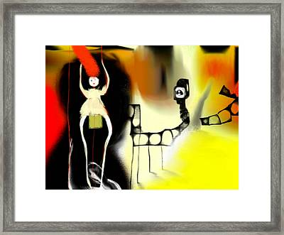 Live Wire Performing Arts Framed Print by Rc Rcd