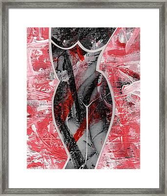 Lively Framed Print