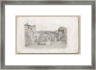 Liverpool Bridge Framed Print