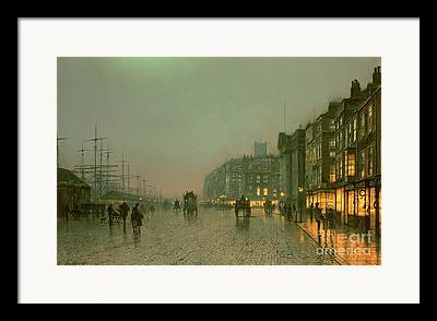Street Lights Framed Prints
