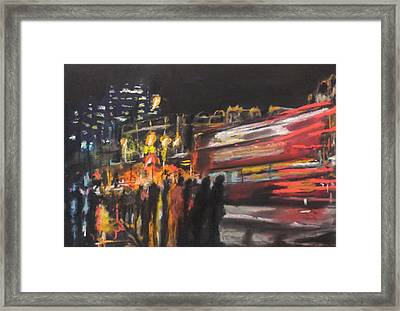 Liverpool Street London Framed Print by Paul Mitchell
