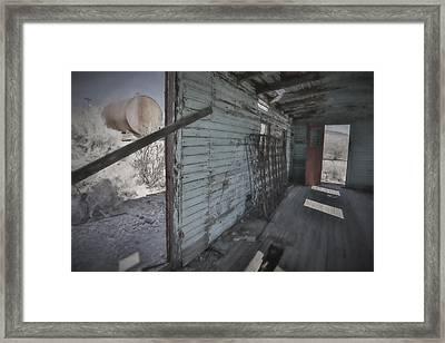 Livin In Despair Framed Print
