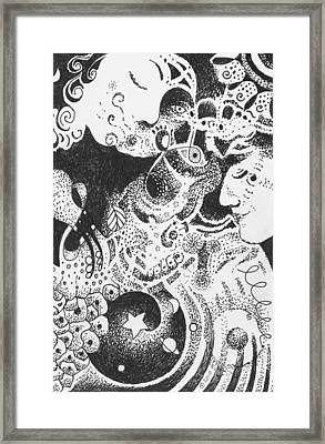Living And Loving Framed Print by Helena Tiainen