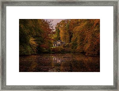 Living Between Autumn Colors Framed Print