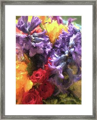 Living Color Framed Print
