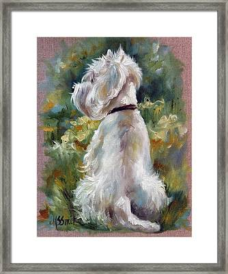 Living Color Framed Print by Mary Sparrow